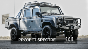 project spectre land rover defender 130