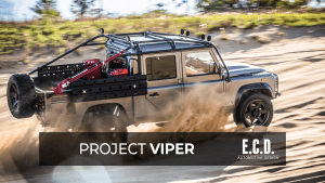project viper land rover defender 130